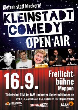 """Kult-Show """"Kleinstadtcomedy"""" 2017 auf der Freilichtbühne!"""