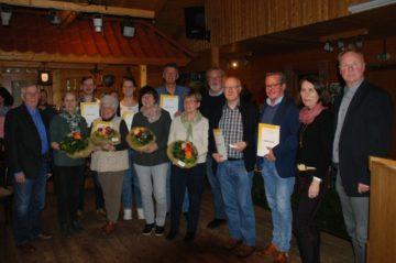 290 Jahre Mitgliedschaft auf der Freilichtbühne Meppen