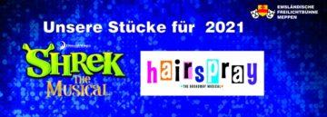 Shrek und Hairspray verschoben auf2021